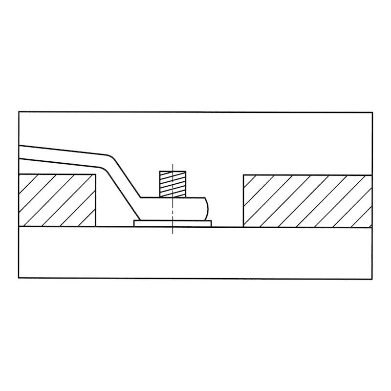 ダブルリングレンチ、深オフセット - オフセットメガネレンチ  16X17