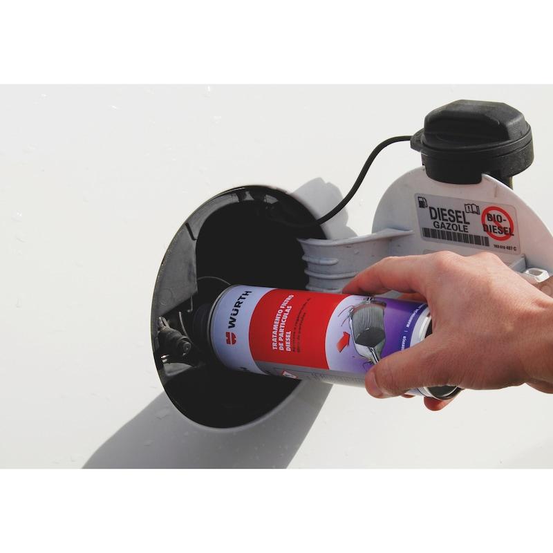 Dizel partikül filtre koruyucu - DİZEL PARTİKÜL FİLTRE TEMİZLEYİCİ 300ML