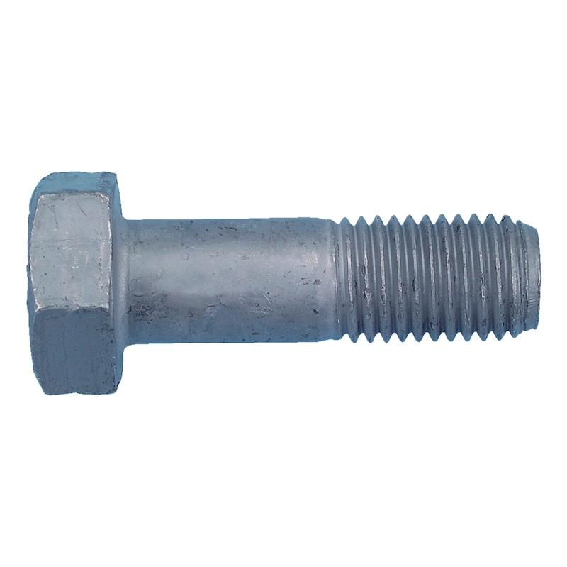 Sechskantschraube für HV Garnitur - SHR-EN14399/4-10.9-K1-SW22-(TZN)-M12X145