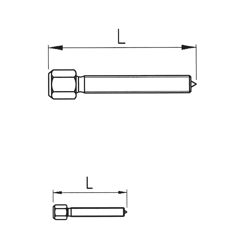 Extracteur, trois bras, crochet double - 2