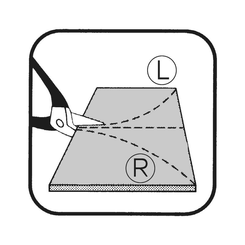 Cisaille idéale à lames en carbure - 3