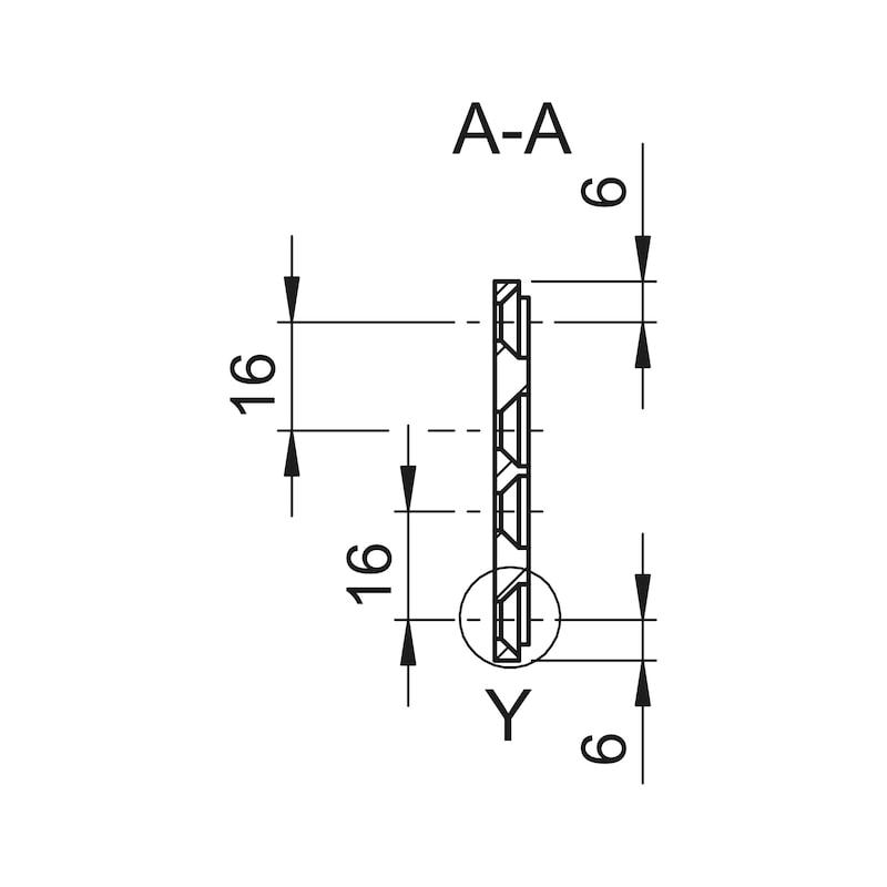 Montagegrundplatte - 3