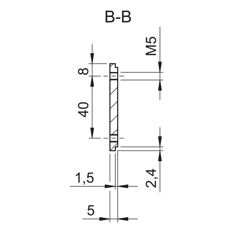 Montagegrundplatte - 4