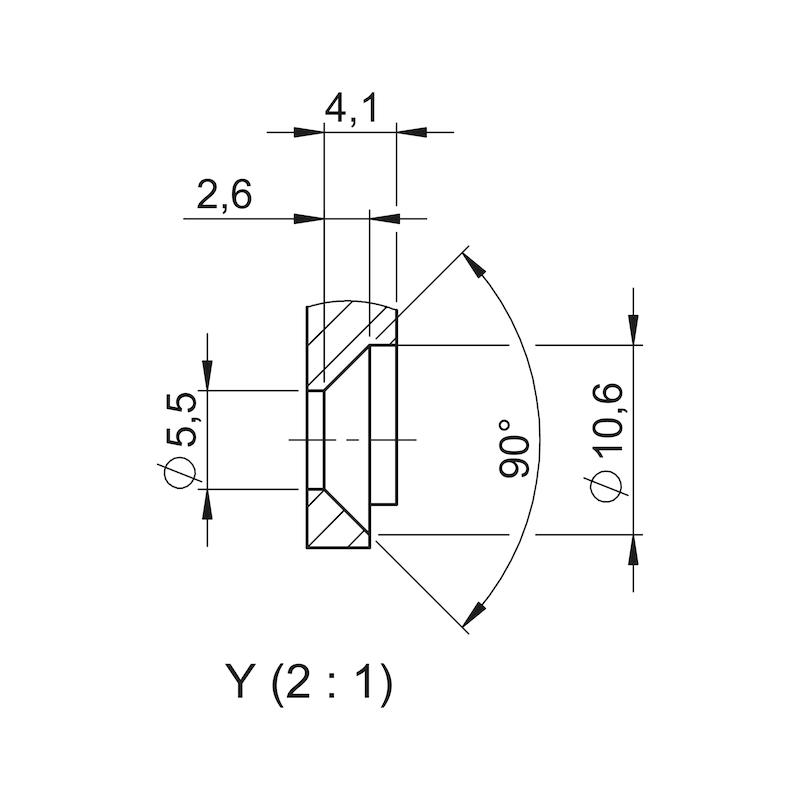 Montagegrundplatte - 5