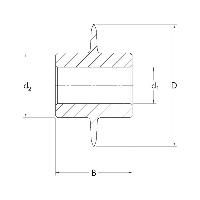 Molette de rechange pour coupe tube - 2