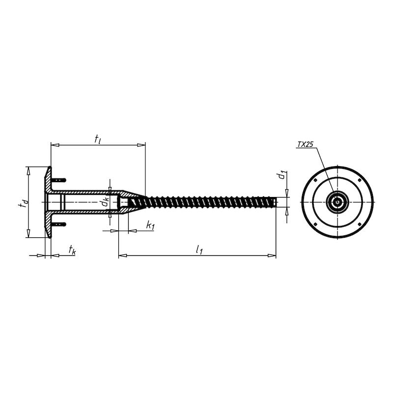 Kunststoff-Schraubkombination EUROFAST<SUP>®</SUP> BTRPEAS - 2