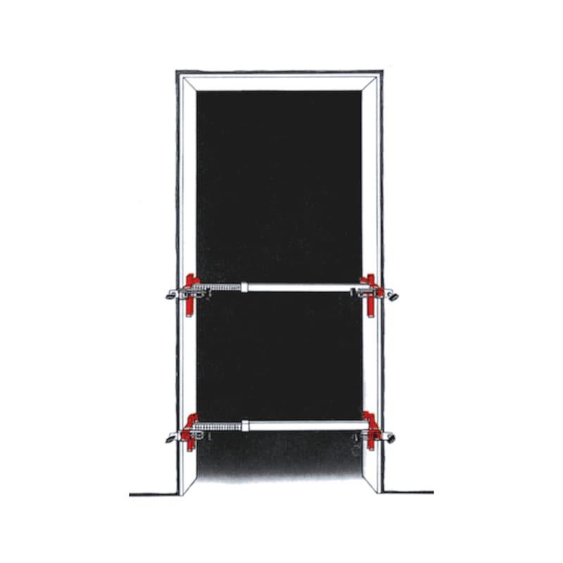 Door frame clamp - 2