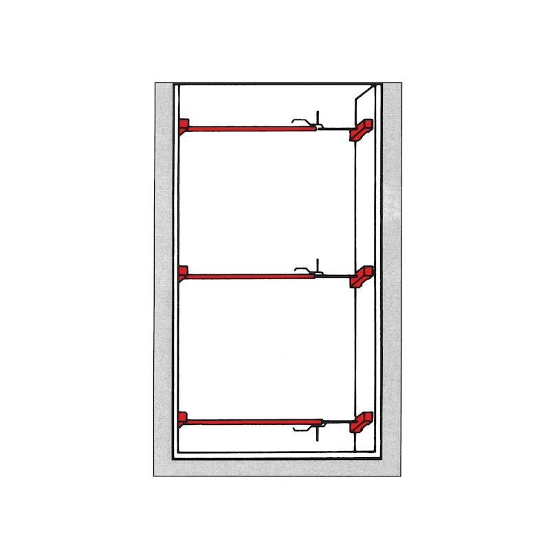 Door frame spreader - 2