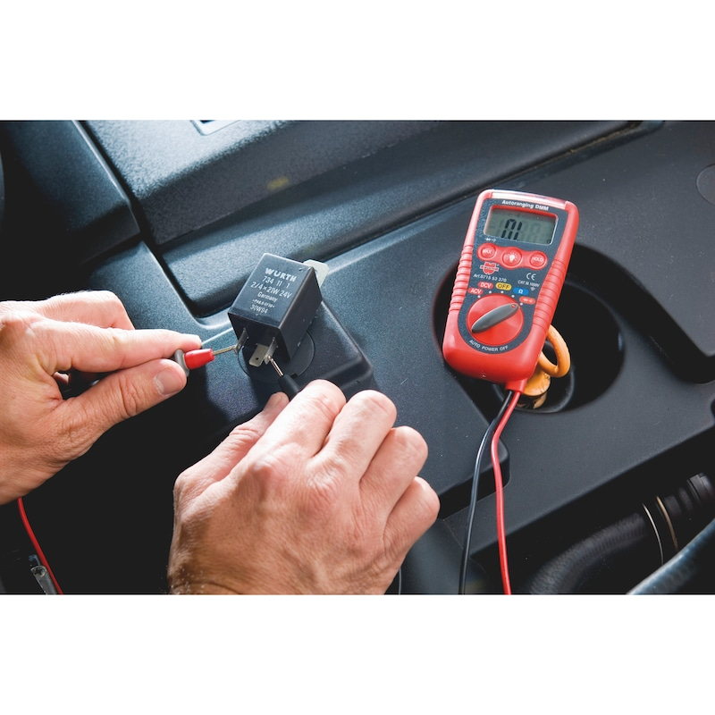 Mini Digital-Multimeter - MULTIM-DGT-KLEIN-(SPANNPRFG-BERUEHRLOS)