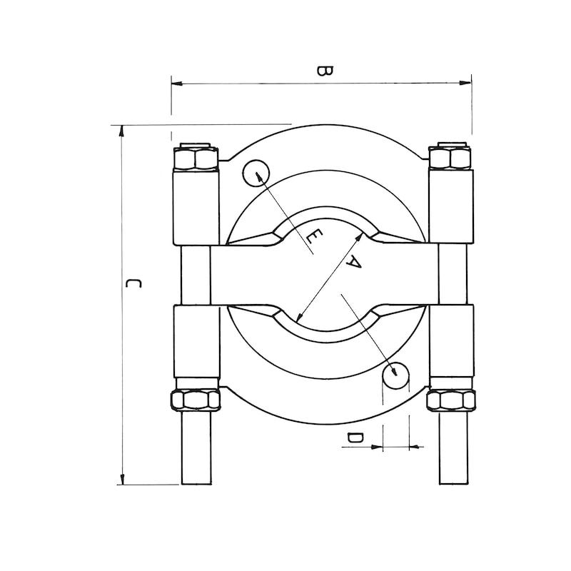 セパレーター - ベアリングプーラー 25-155MM