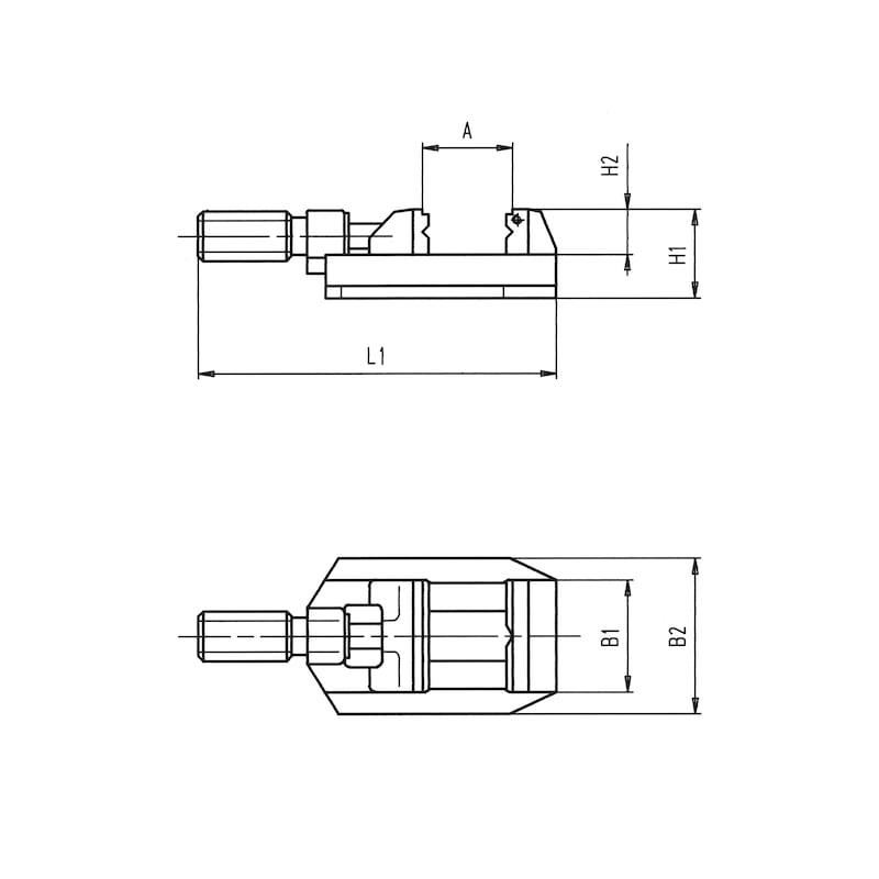 Maschinen-Schraubstock - 2