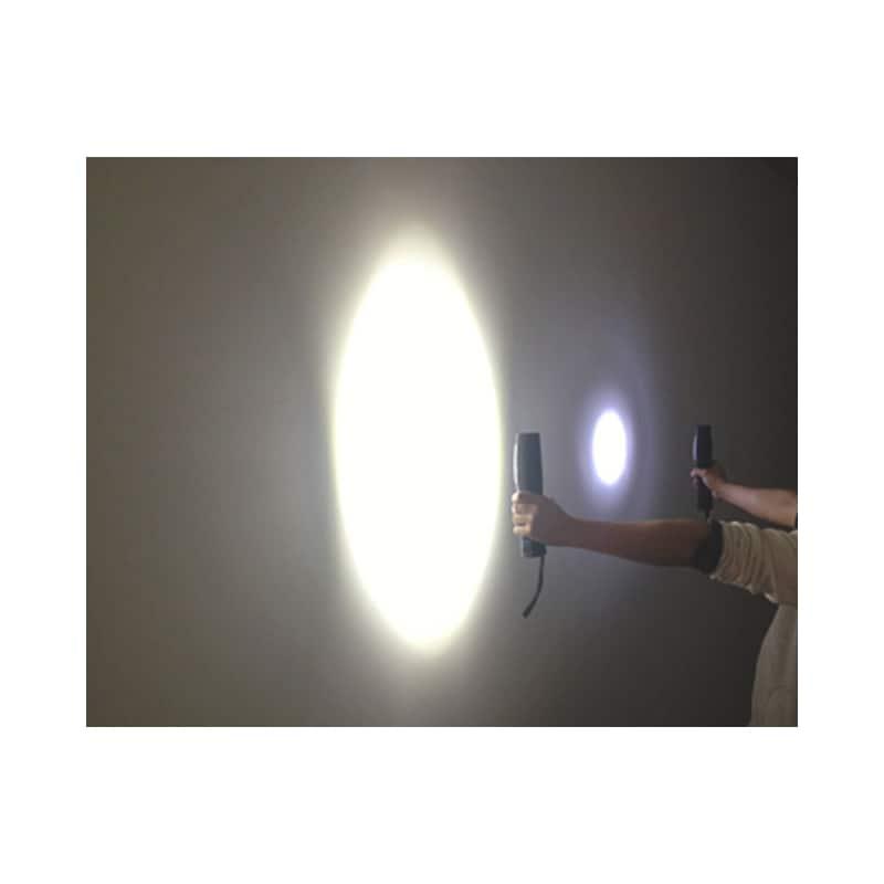 Akumulatorowa lampa ręczna LED WL Mini 2.5+1W LED  - LAMPA RĘCZNA-LED4+1-IP20-MINI