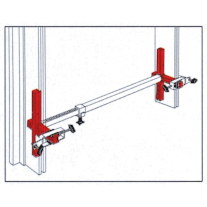 Door frame clamp - 3