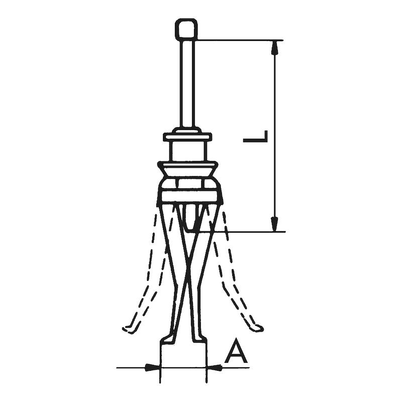 Conjunto de extratores externo e interno - 2