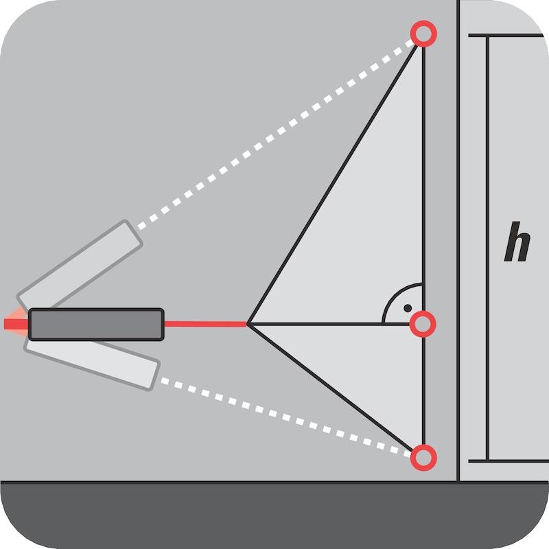 Laser distance meter - LASRDISTM-WDM61