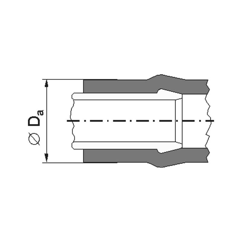 Schlauchschelle Schraublos - 2