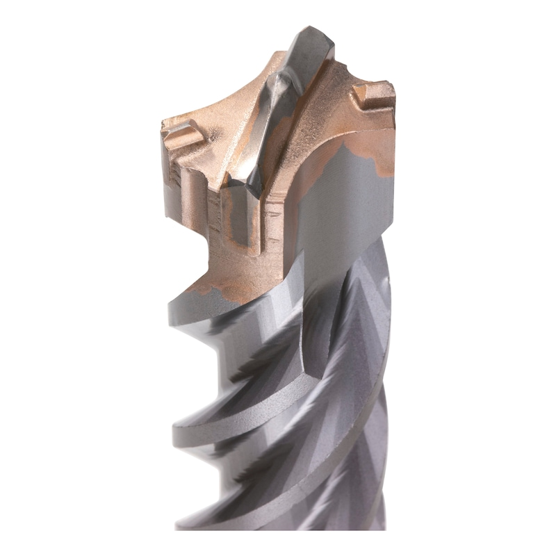 Hammer drill bit with SDS-max drive arbor Quadro-S - 2