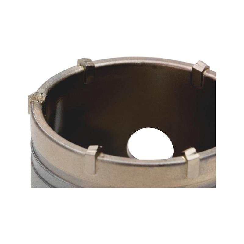 Couronne de perçage légère et résistante à la percussion - 2