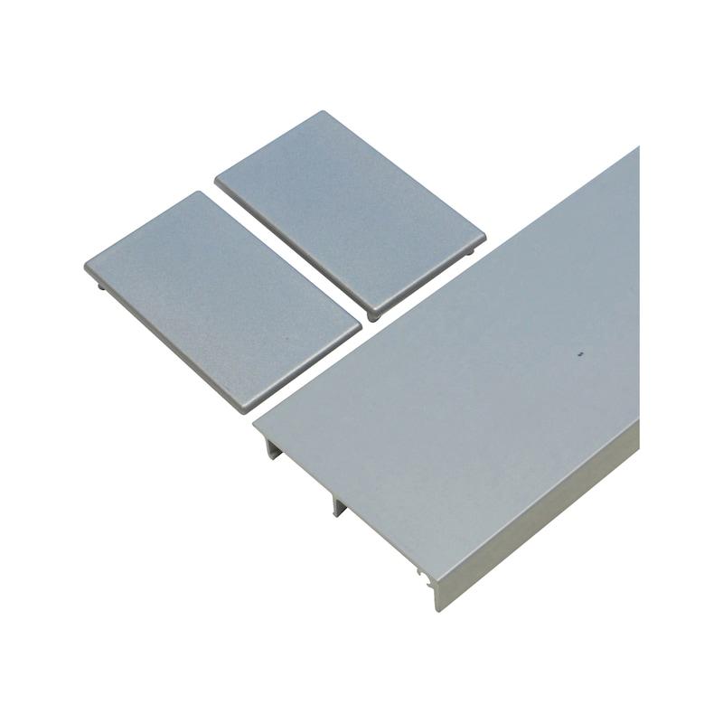 Blendenprofil SCHIMOS 80/120-G - ZB-CLIPBL-SHIEBTR-SCHIMOS-G-3000-SILB