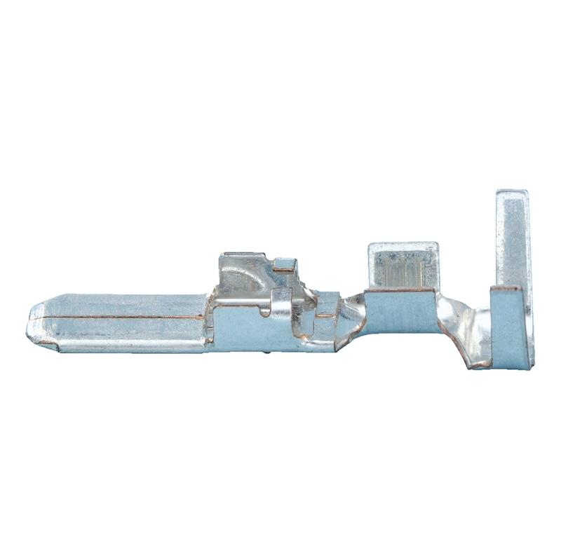 Cosse plate mâle 4,8 mm - COSSE-ELECTR-NON-OSOL-1,0-2,5MM2