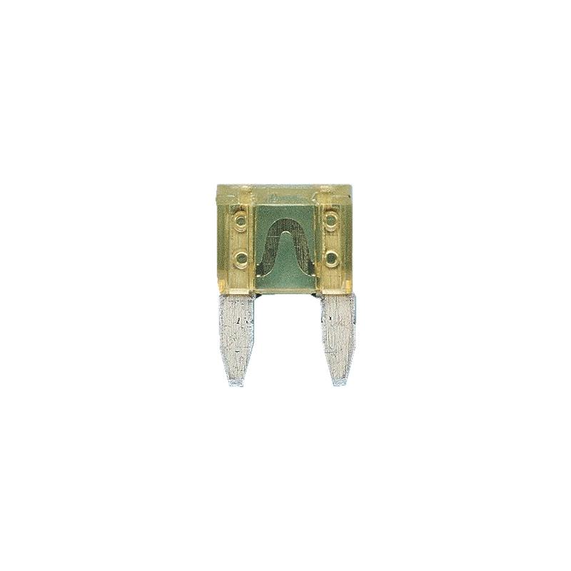 Fusibile piatto a lamelle MINI argento - MINI FUSIBILE A LAMA AMP 20   GIALLO