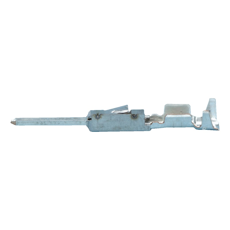 Pim klemensi Micro Quadlok System (MQS) 0.63 - İZOLESİZ KABLO KLMN.ERKEK 0,5-0,75/D0,63
