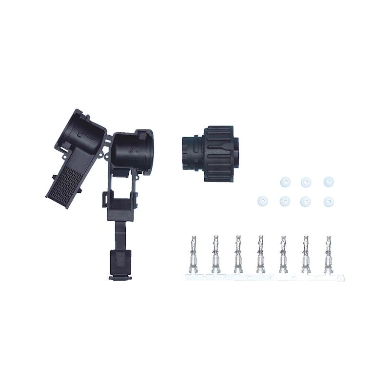 Connecteur compact pour réparation, 7 broches