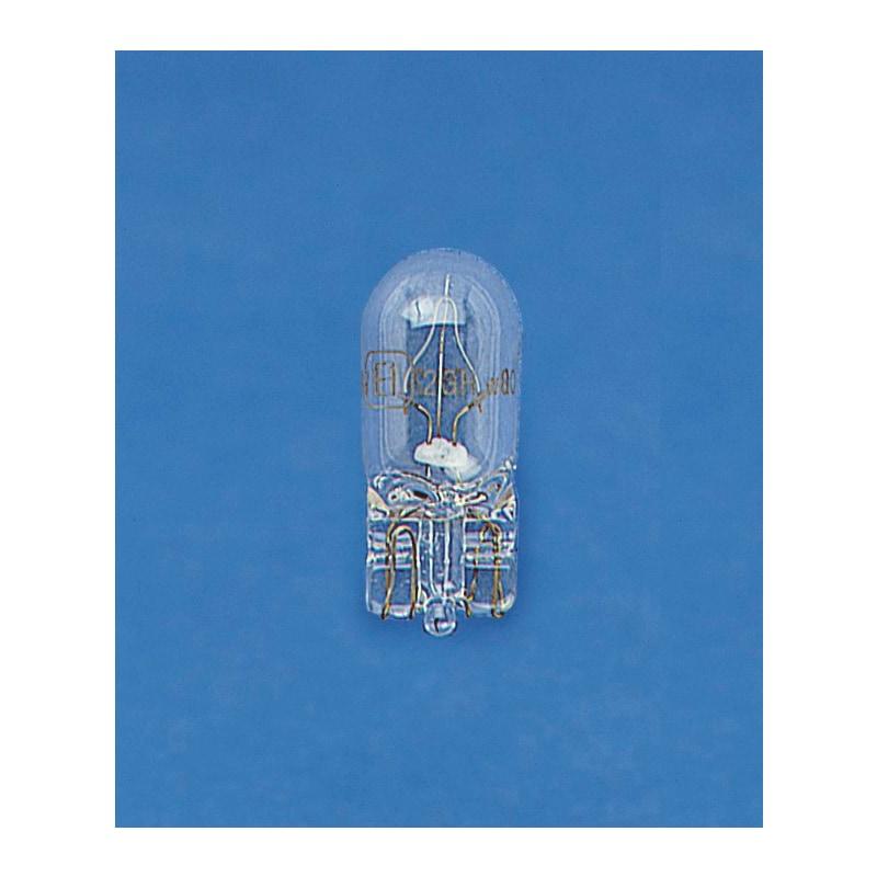 Glassokkellampje knipperlicht  Oranje - GLASSOKKELL. W2,1X9,5D OR.12V 5W