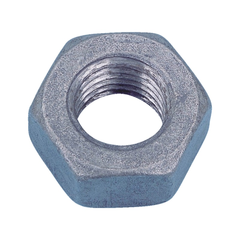 Hexagon nut - NUT-HEX-DIN934-I8I-WS13-(HDG)-M8