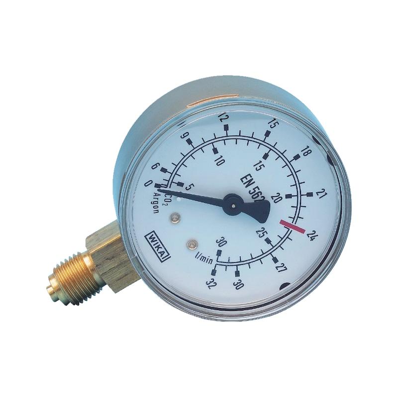 Druckminderer-Manometer - MANOM-(0-18/40)-ACETYLEN