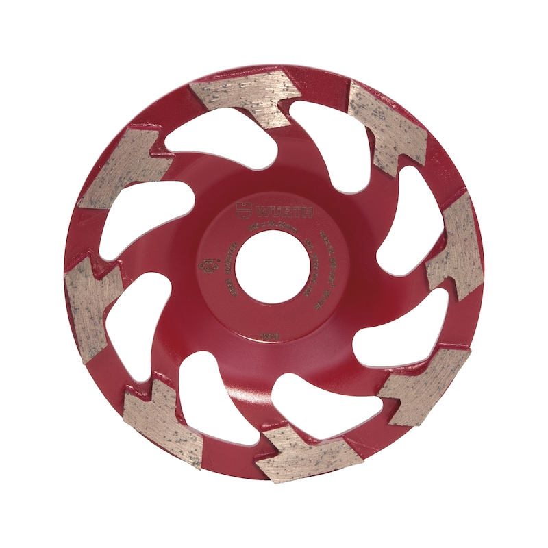 Diamantschleiftopf Abrasiv - 1