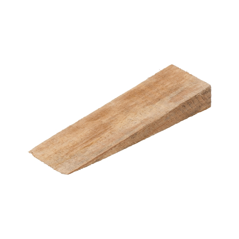 Hardwood wedge