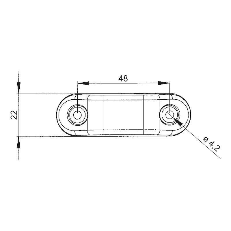 Feu de contour/position LED MINI 24V - 2