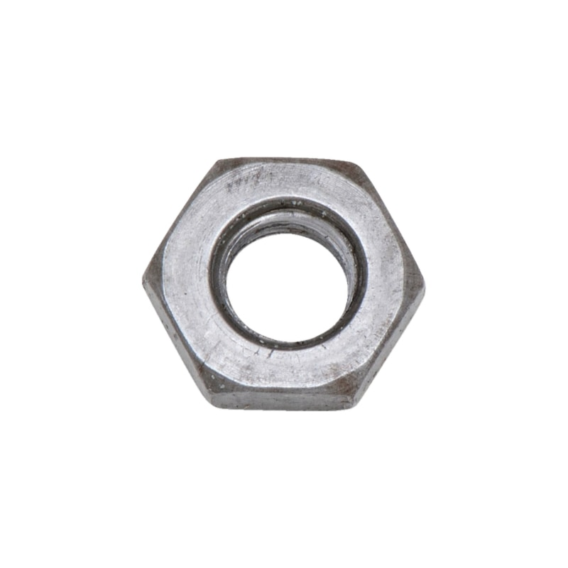 Hexagon nut, low profile with fine thread - 1