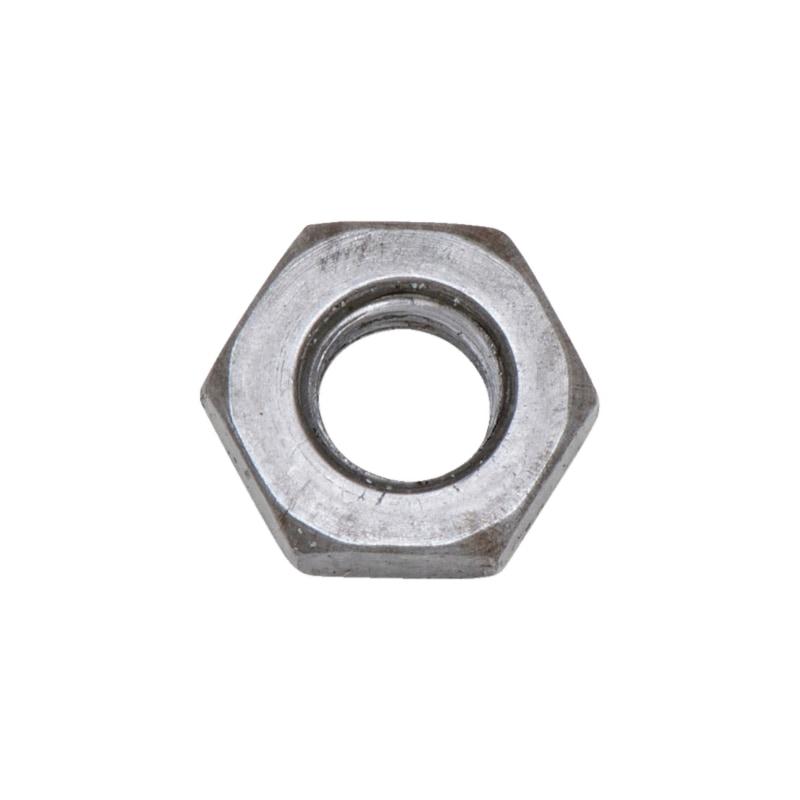 Sechskantmuttern DIN 439 Stahl 04 blank niedrige Form B