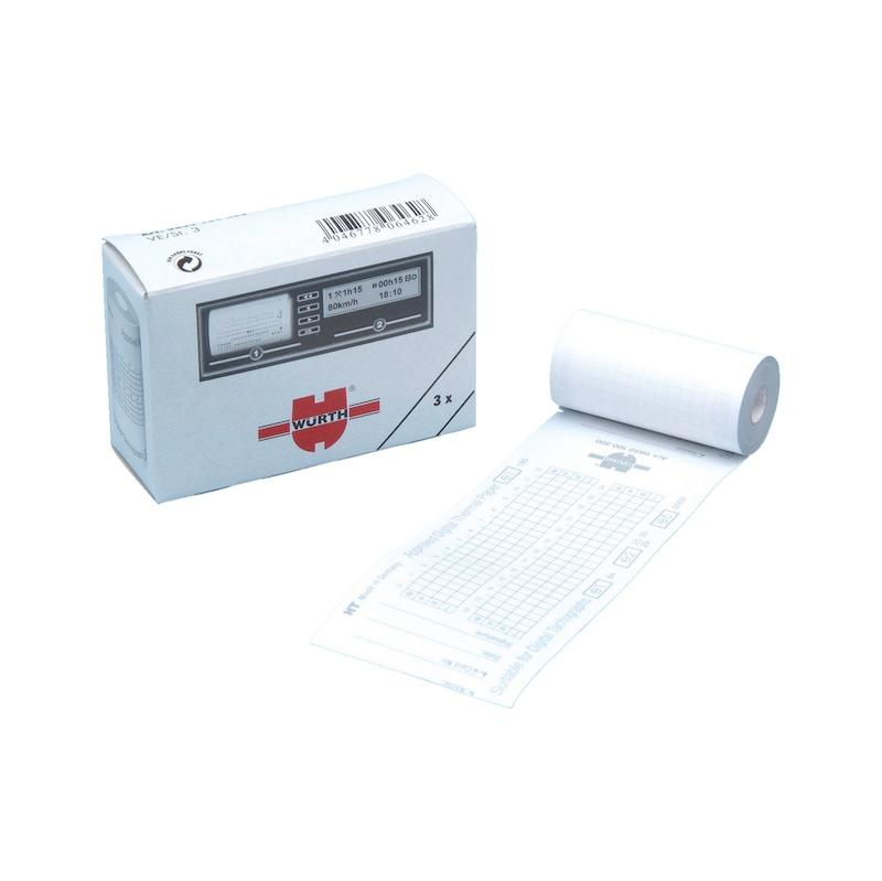Papel térmico - ROLO TERMICO P/ TACOGRAFO DIGITAL Q.MIN3