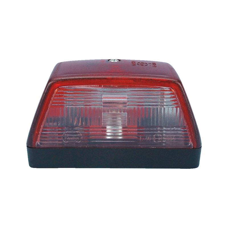 Luce di posizione posteriore/targa 12/24 V - 1