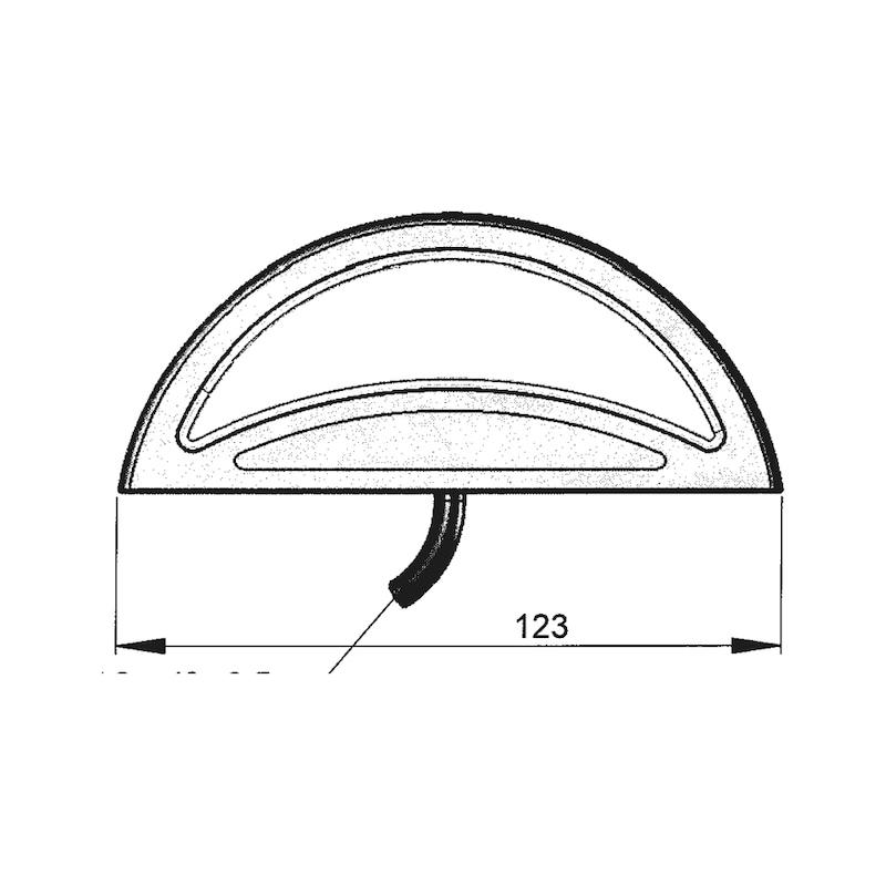 LED-Schluss-Kennzeichenleuchte 24 V - 3