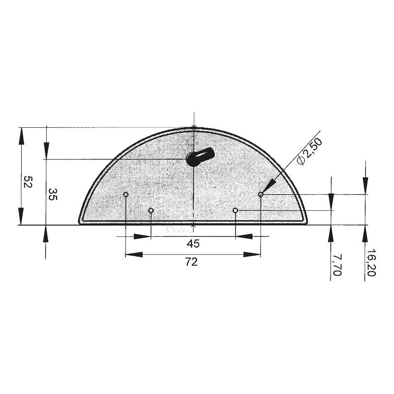 LED-Schluss-Kennzeichenleuchte 24 V - 1