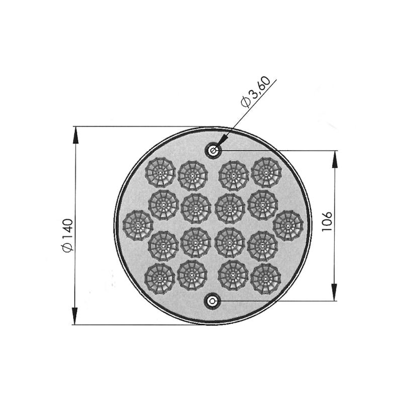 LED-Innenleuchte 24 V - 2