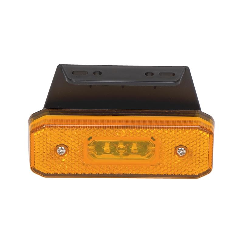 Feu de position latéral orange à LED - 1