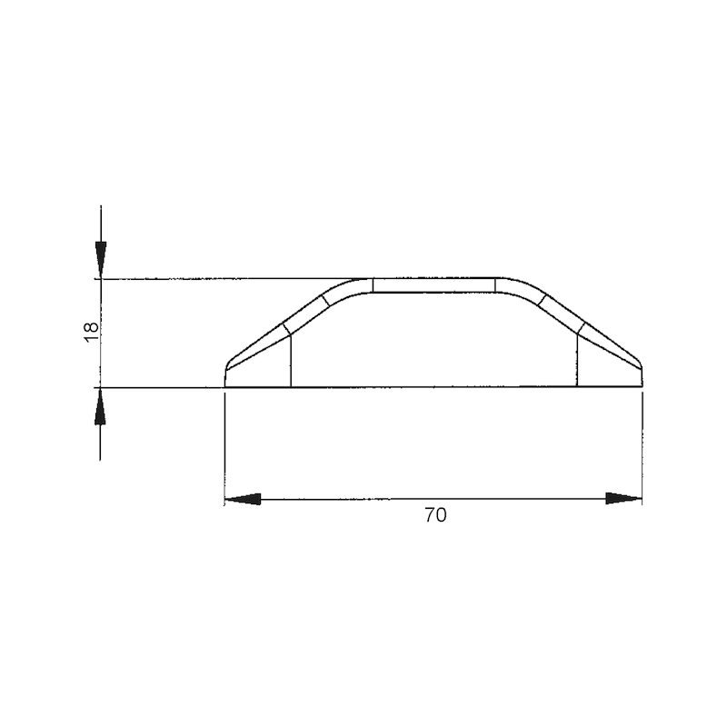 LED-Umriss-/Schlussleuchte MINI 24 V - 3