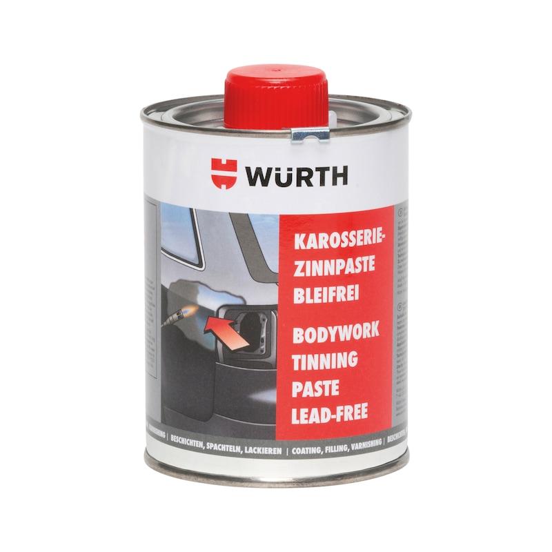 Lead-free bodywork tinning paste