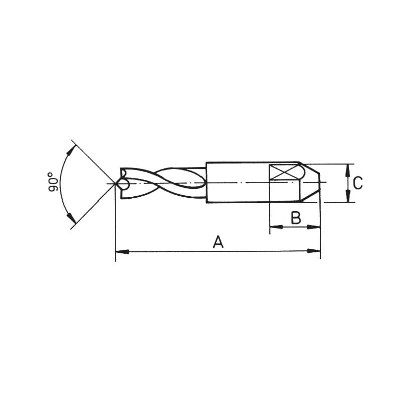 Schweißpunktfräser HSCO - 2