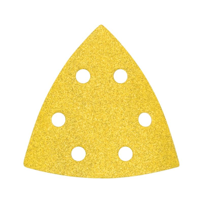 Trockenschleifpapier-Dreieck Holz
