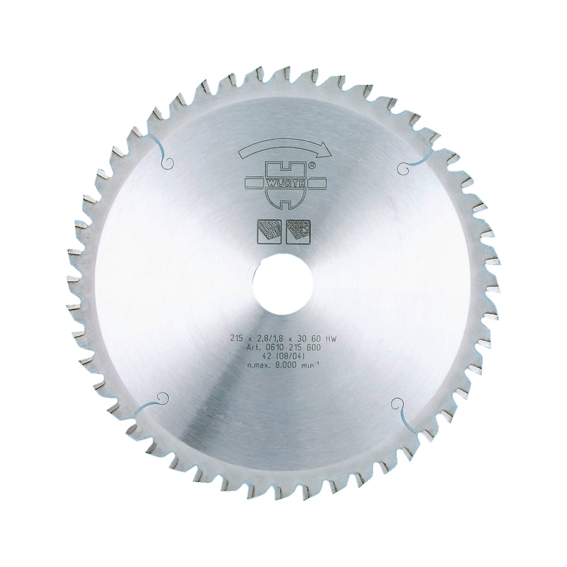 Lame de scie circulaire UNI-Top - LAME CIRC D 190-ALES 30-40 DENTS