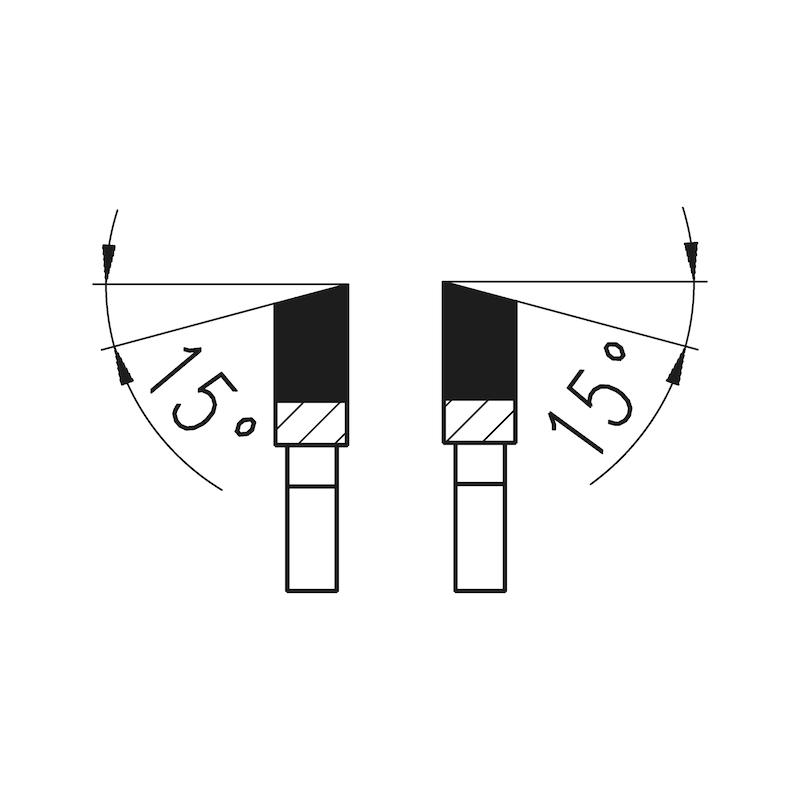 Standart dairesel tepsi testere - DAIRE TESTRE 300X96X30