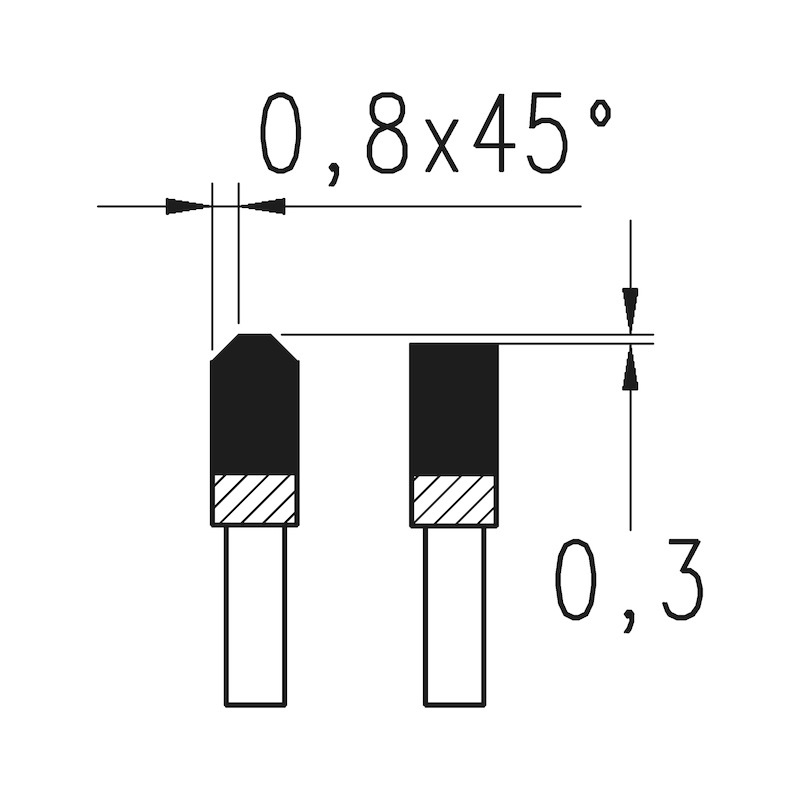 Paneelsägeblatt - KRSAEBLA-HO-HM-TFZ-216X60NEGX30