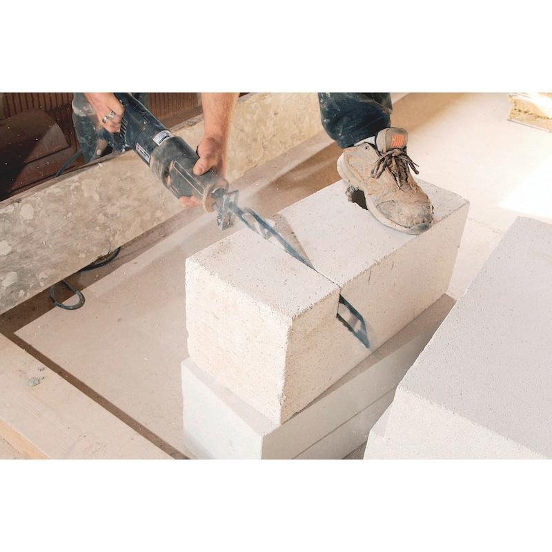 Lame de scie sabre 3S brique/béton cellulaire - 6