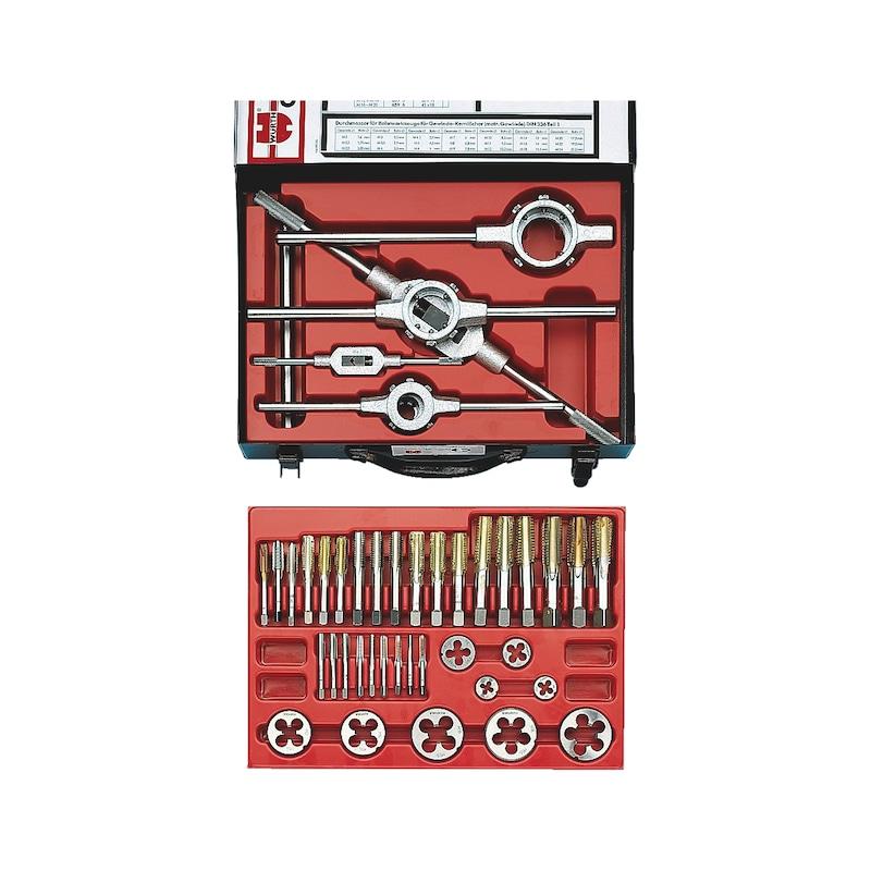 "HSS M6 x 1.25 1/"" OD Round Adjustable Die Cutting Tools"
